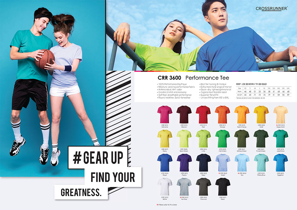 Crossrunner Round Neck Shirts
