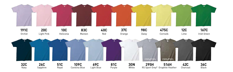 Gildan SoftStyle Adult Ring Spun T-Shirt 21 colors
